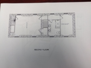 Second Floor - Master suite, bathroom and office