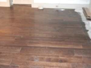 Smoked Chestnut Hardwood Floors